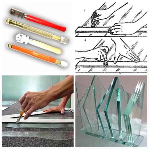 Стеклорезы. Виды, особенности и правила работы со стеклорезами.