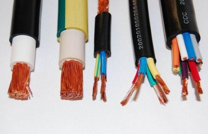 таблица мощности кабеля по сечению