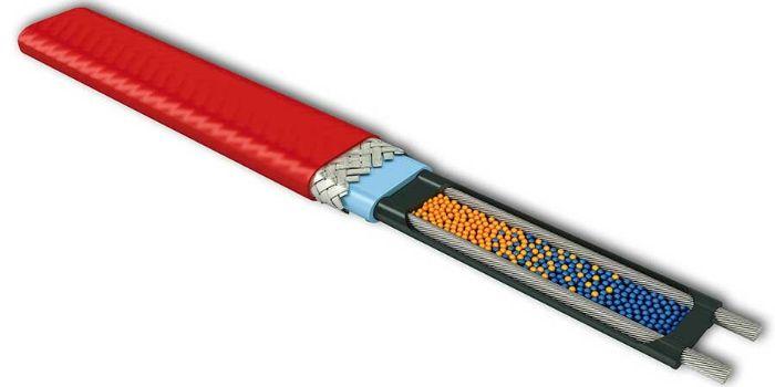 резистивный греющий кабель принцип работы