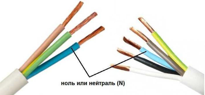 цвета электрических проводов