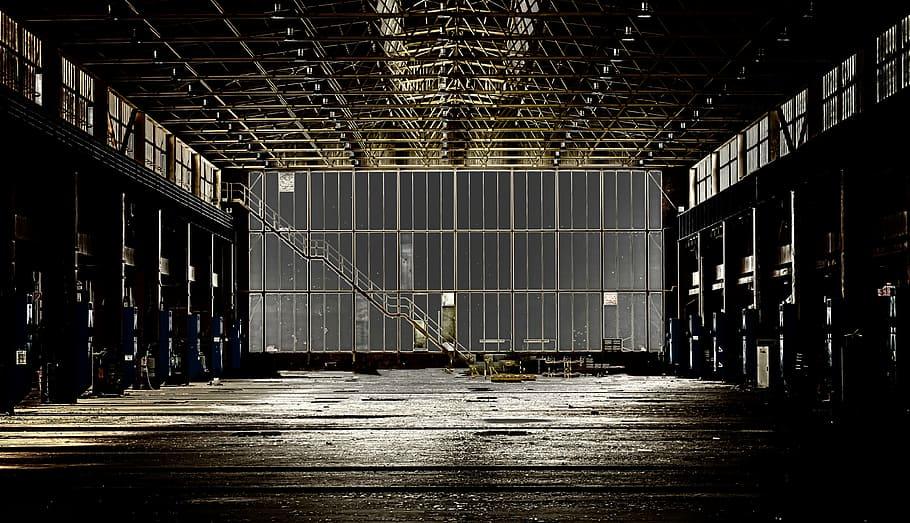Быстровозводимые здания с металлическим каркасом